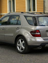 Silver Car Detail Stock Photography - 8339772