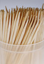 Toothpicks. Royalty Free Stock Photos - 8339838