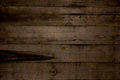 Horizontal Barn Wooden Wall Planking Texture. Reclaimed Old Wood Royalty Free Stock Photo - 83301375