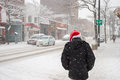 Snowstorm In Montreal. Stock Photo - 83338050