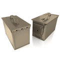 Ammo Can On White Background Royalty Free Stock Photos - 83348548