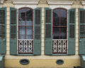 Windows In French Quarter Apartment Stock Photo - 83349480