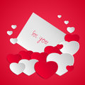 Valentine`s Day Card Royalty Free Stock Photos - 83356648