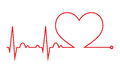 Heart Beat. Cardiogram. Cardiac Cycle. Medical Icon. Stock Photography - 83381112
