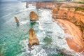 Famous Beautiful 12 Apostles In Australia Royalty Free Stock Images - 83393329