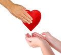 Gift Of Heart Stock Images - 83425844