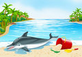 Dolphin Lying On The Beach Royalty Free Stock Images - 83439989