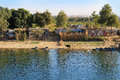 Poor Village On The Nile River, Egypt Royalty Free Stock Photos - 83440358