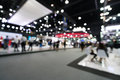Blurred, Defocused Background Of Public Event Exhibition Hall, Business Trade Show Concept Stock Image - 83448301