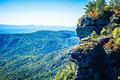 Landscape Views On Top Of Table Rock Mountain Nc Stock Photography - 83469332