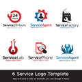 Service Logo Template Design Vector Royalty Free Stock Images - 83481329