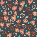 Seamless Hearts Pattern Stock Photos - 83482343