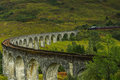 Glenfinnan Viaduct In Scottish Highlands Stock Photo - 83495630
