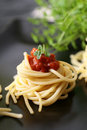 Spaghetti With Tomato Stock Photos - 8357043