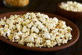 Popcorn With Cheese, Oregano And Garlic Royalty Free Stock Images - 83500139