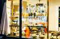 Paul Boulangerie Et Patisserie Cafe With Window Shopping Full Of Stock Image - 83507301