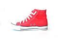 Red Sneakers On White Stock Image - 83538031