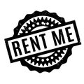 Rent Me Rubber Stamp Stock Photos - 83565463
