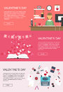 Valentines Banners Vector Graphic Royalty Free Stock Photography - 83582557