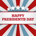 Presidents Day Background. USA Patriotic Vector Template With Text, Stripes And Stars In Colors Of American Flag. Stock Image - 83593101
