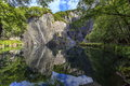 Slate Quarry Stock Image - 83621161