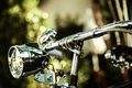 Old Bicycle Lamp, Bike Light, Front Light Royalty Free Stock Photography - 83662007
