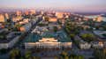 Russia. Rostov-on-Don. Councils Square. The Office Of The Centra Royalty Free Stock Photos - 83667738