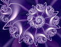 Purple Fractal Stock Images - 83692964