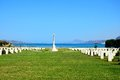 Souda Bay Allied War Cemetery, Crete. Royalty Free Stock Photo - 83693525