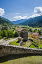 Castle In Italian Alps Royalty Free Stock Photography - 83696227