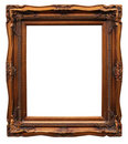 Frame From Baguette On White Royalty Free Stock Image - 8371066