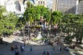 View Of The Berrio Squarein Medellin, Colombia Stock Photography - 83721852