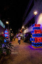 Christmas Decoration In Medellin Stock Images - 83722014