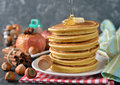 Pancakes With Honey Royalty Free Stock Photography - 83727767
