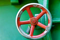 Red Wheel Royalty Free Stock Image - 8383846