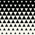 Abstract Geometric Black And White Graphic Design Print Triangle Halftone Pattern Royalty Free Stock Photo - 83801075