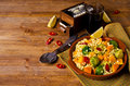 Pasta With Vegetables Royalty Free Stock Photo - 83804485