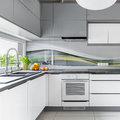 Spacious Kitchen With Window Stock Images - 83823904