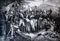 Napoleon Bonaparte With His Army At The Battle Of Lodi Royalty Free Stock Photos - 83884588
