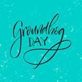 Lettering. Groundhog Day. Stock Photography - 83898202