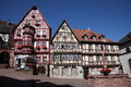 Half-timbered Old House In Miltenberg Stock Image - 83899981