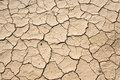Dry Mud Cracked Desert Ground Background Pattern Stock Images - 8396644