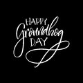Lettering. Groundhog Day. Stock Photography - 83908222