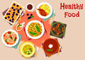 Italian And Portuguese Lunch Dishes Icon Stock Images - 83921204