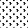 Mug Of Beer Pattern, Simple Style Royalty Free Stock Photography - 83923127