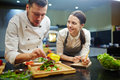 Cooking Lesson Royalty Free Stock Photo - 83938715