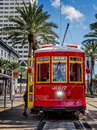 New Orleans RTA Street Car Stock Photography - 83960922