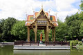 Asia Temple In Munich Royalty Free Stock Image - 843736