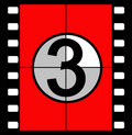 Film Countdown Royalty Free Stock Images - 843869
