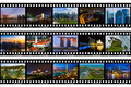 Frames Of Film - Singapore Travel Images My Photos Royalty Free Stock Photo - 84004305